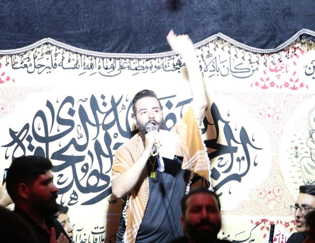 دانلود عکس و والپیپر HD | کربلایی هادی گلستانی مراسم هفتگی 22 خرداد 1399